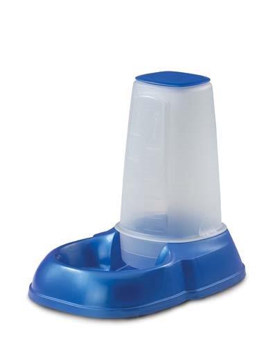 Кормушка-поилка с бутылкой 500мл/пластик/35,5*14*6,5см gigwi 75178