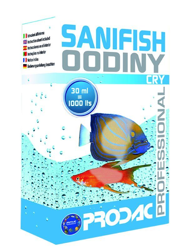 PRODAC средство SANIFISH OODINY CRY 30мл