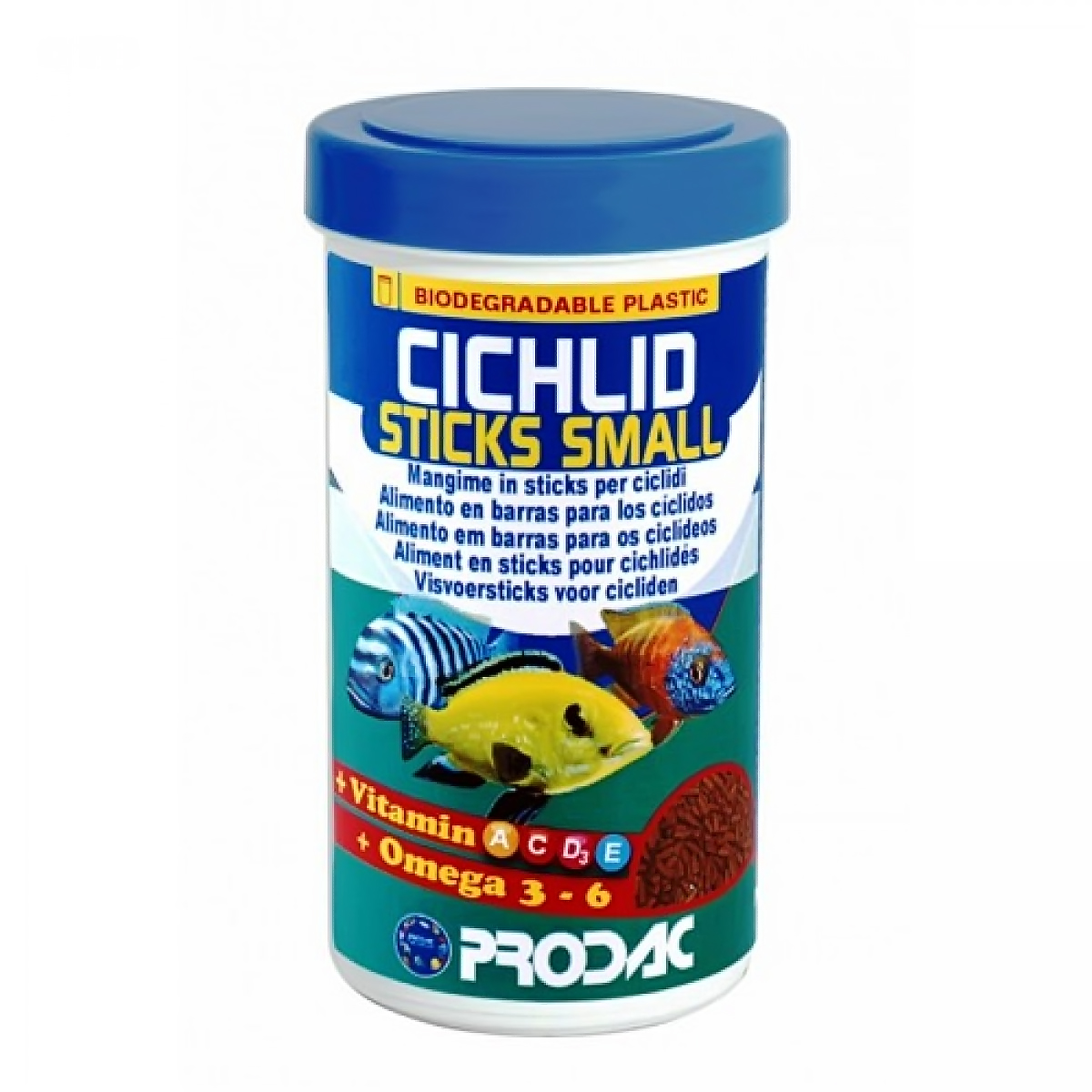 PRODAC корм CICHLID STICKS SMALL